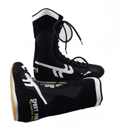 The SF Boxing Boots for Women are a great pick for boxing shoes for women