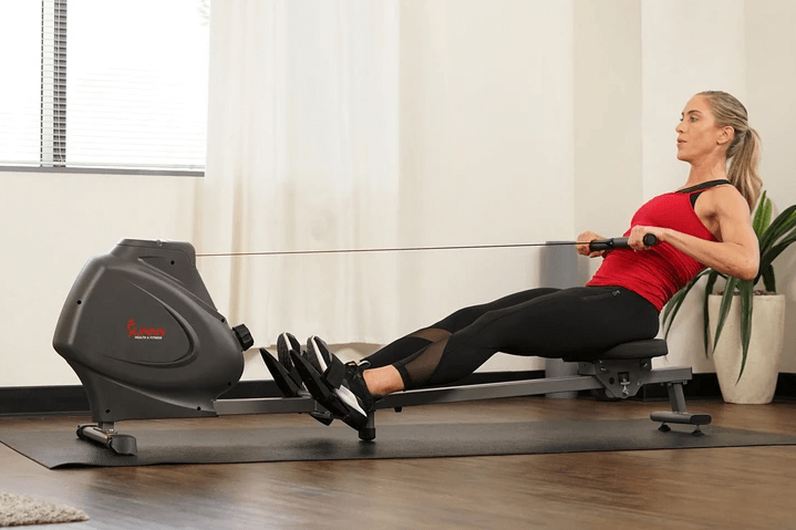 The Sunny Health, Fitness Compact Folding Magnetic Rowing Machine
