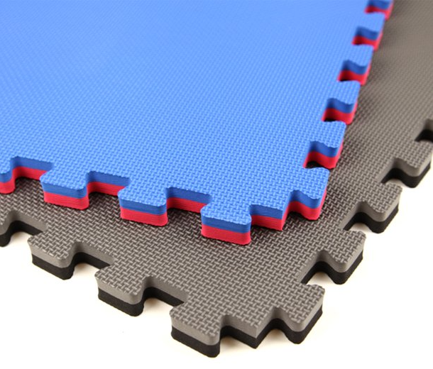 Jumbo Soft Interlocking Foam Tiles are great Foam Tile Style Jiu Jitsu, Wrestling and MMA Mats