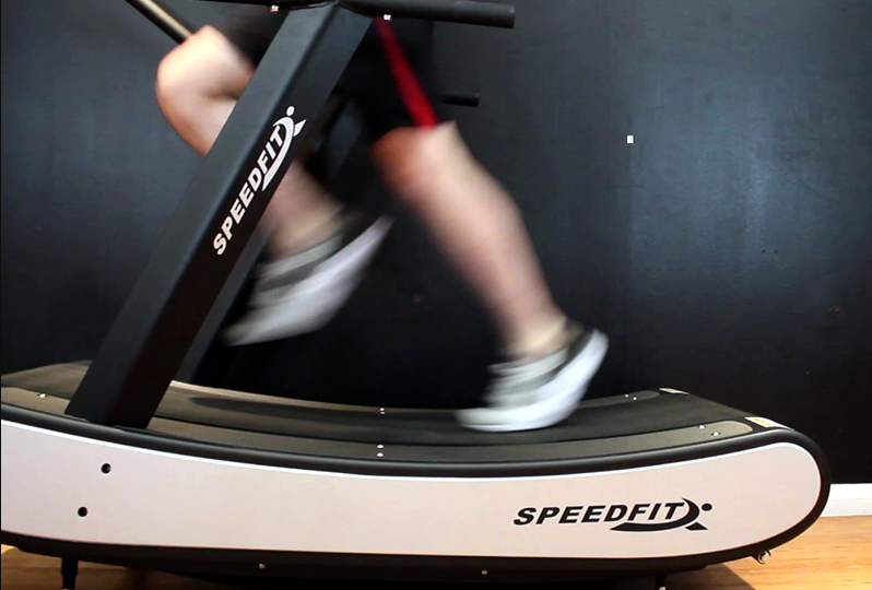 A great benefit of a Having a Home Treadmill is You Can Modify the Terrain