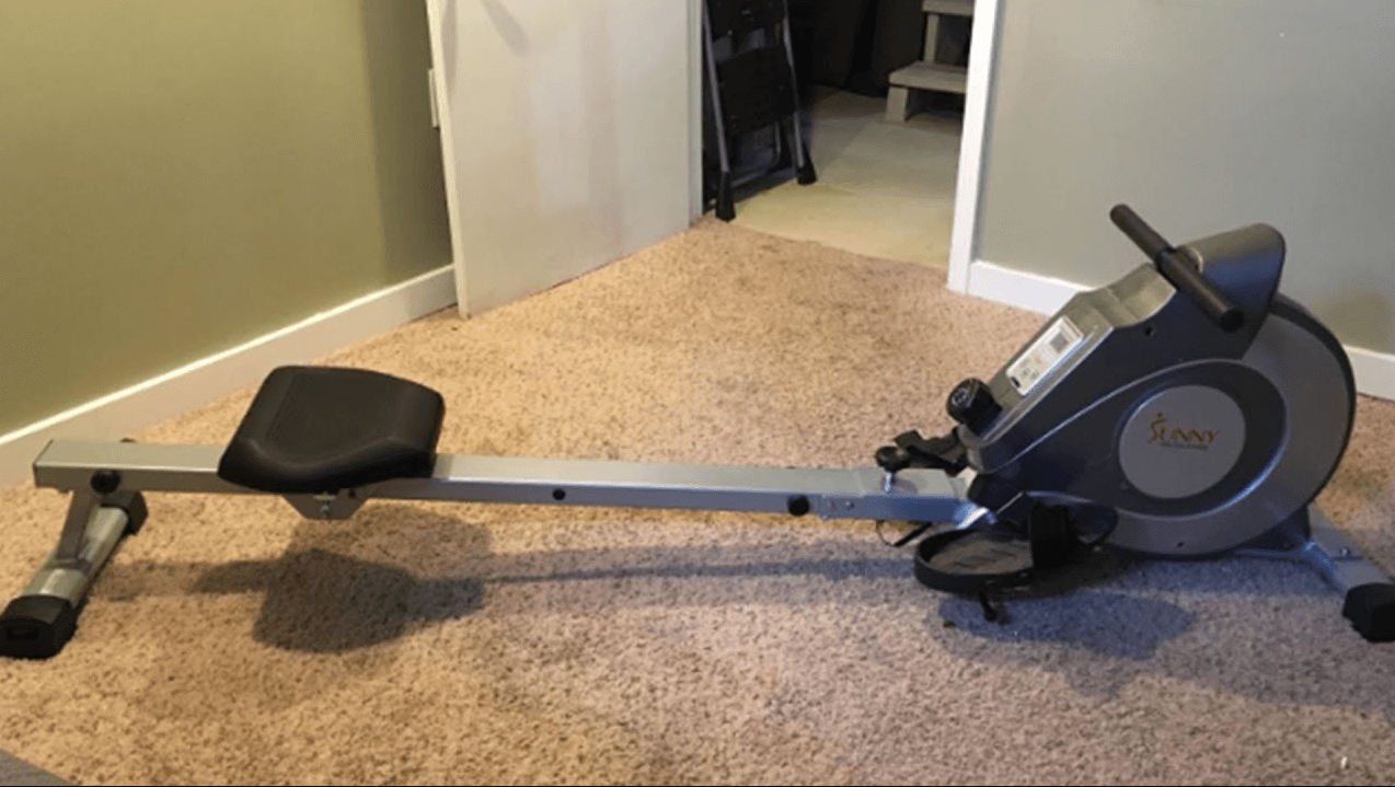 The Sunny Health, Fitness Magnetic Rowing Machine Is The Best Compact Rowing Machine on our list