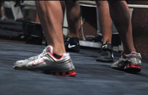One thing to look at when buying boxing shoes is Ankle Support