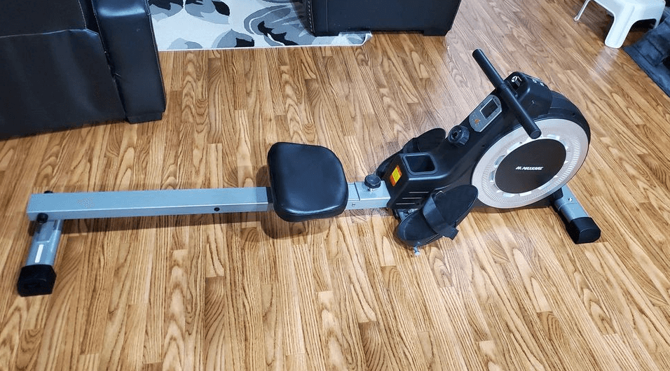 The MaxKare Magnetic Rowing Machine is a great easy to setup rowing machine