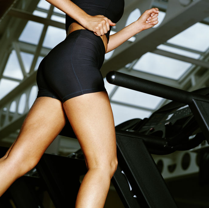 Incline Treadmills Build and Tone Your Butt and Thighs