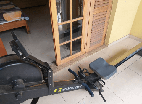 My favorite rowing machine the Concept2 Model D Indoor Rowing Machine