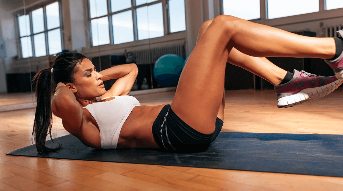 A Mistake People Make when Doing Double Crunches Is Not Breathing Right