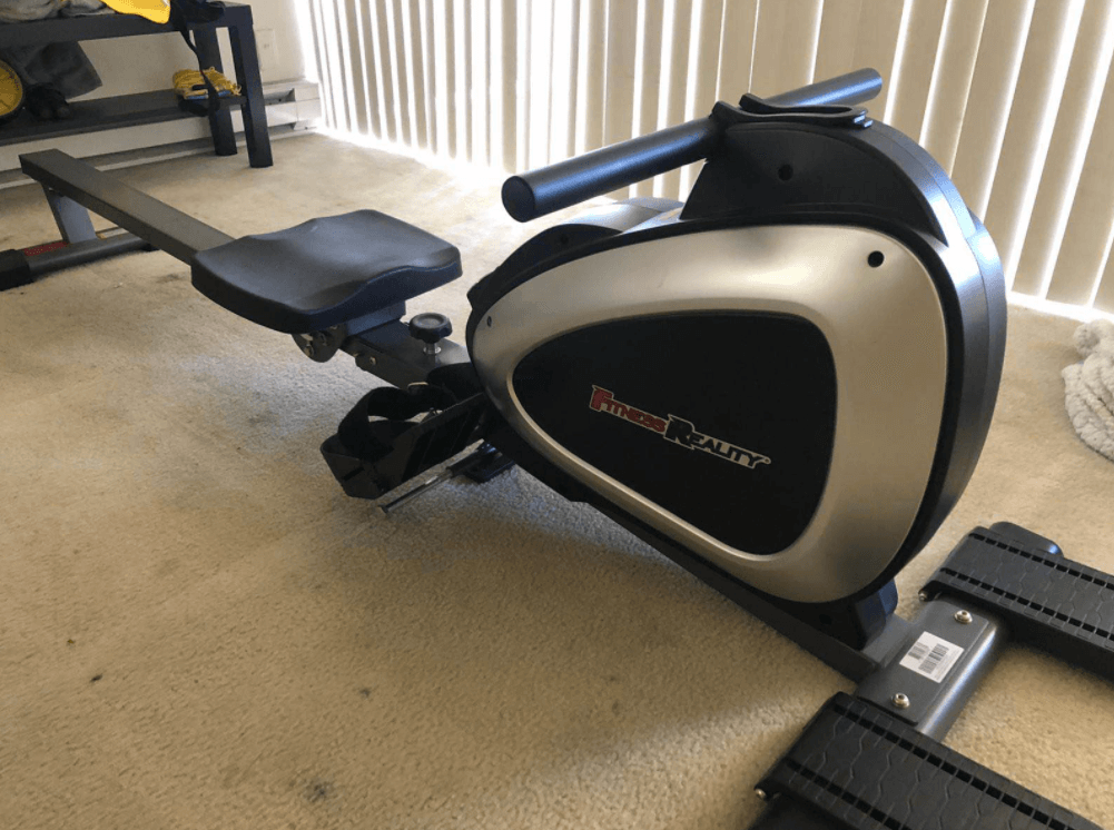 FITNESS REALITY 1000 PLUS Bluetooth Magnetic Rower is a great budget rower