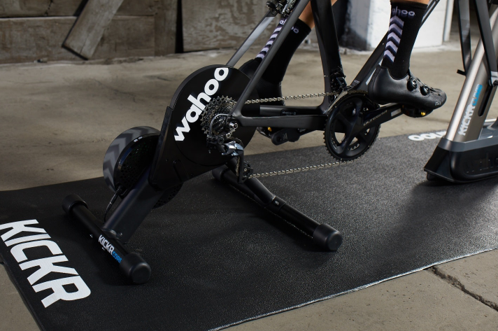 The Wahoo Kickr is our pick for the Best Trainer For Zwift Virtual Riding