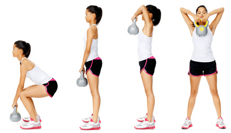 Variations of the High Pull Exercise
