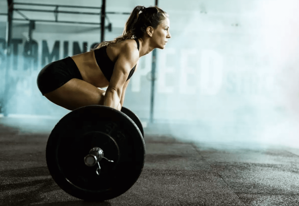 doing Deadlifts at The End of the tactical strength challange