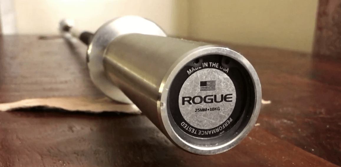 The Rogue 10kg Junior Bar is an excellent choice when looking for short barbells