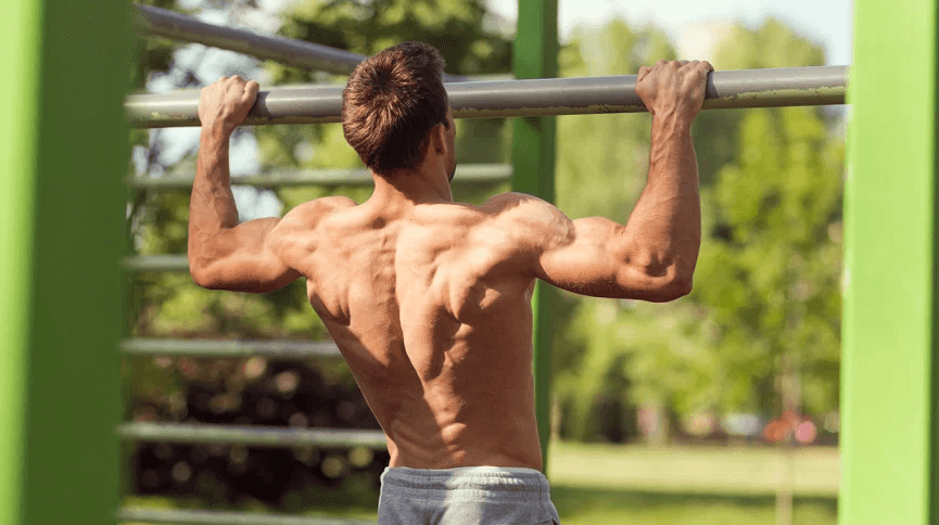 Doing pullups as part of the Tactical Strength Challenge