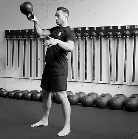 Why the Kettlebell Snatch First when doing A Tactical Strength Challenge