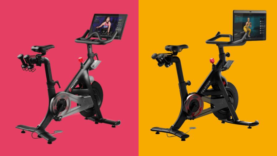 Comparison between the Peloton Bike and the Peloton Bike Plus