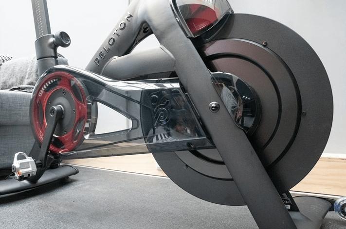 Features of the Peloton bike plus