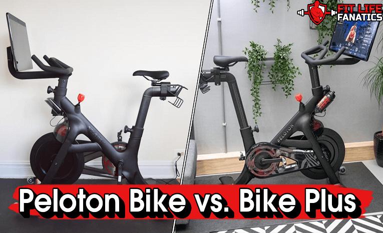 Peloton Bike vs. Bike Plus