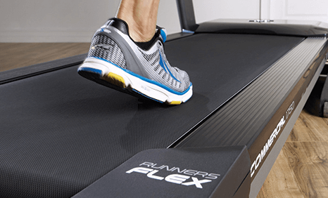 Soft track cushioning reduces impact by 15%