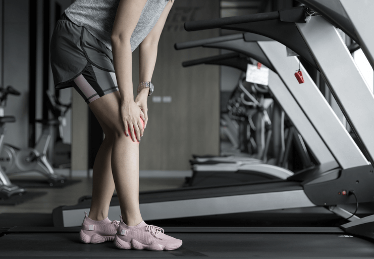 Some people claim running on a treadmill causes knee pain