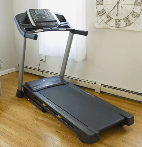 The NordicTrack T6.5 is our third cushioned treadmill