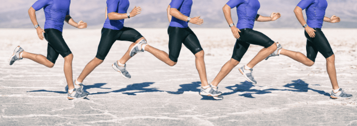 There are four different phases of running