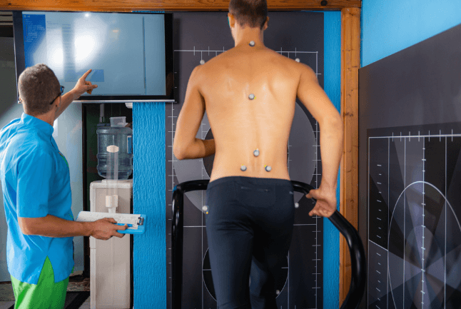 Your running gate may be causing problems when running on a treadmill