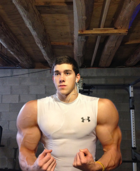 Working out in a basement isn't to say you can't bulk up