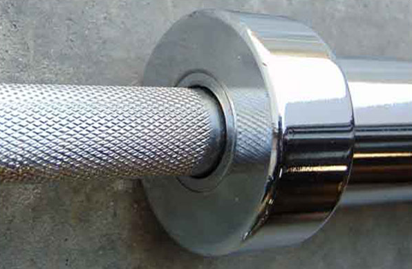 Bearing barbell offer perfectly smooth sleeve movement