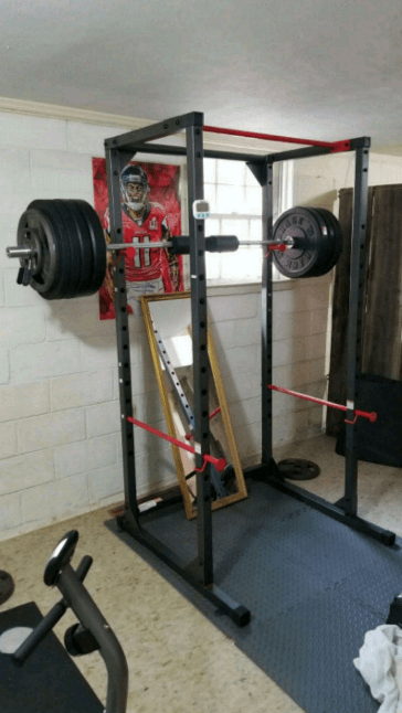 For safety, strength and performance, go for this Cap barbell full cage rack