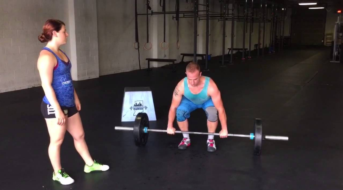 The power clean is pretty much the same