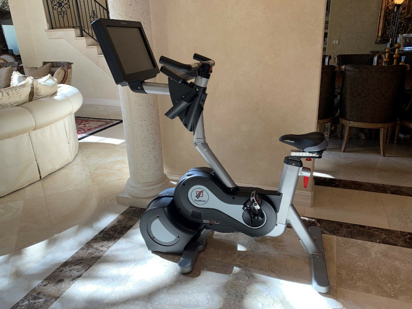 The Expresso Go Upright bike is an epic piece of equipment with  striking features