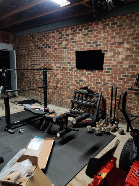 There are several ways to bring your gym wall up to snuff