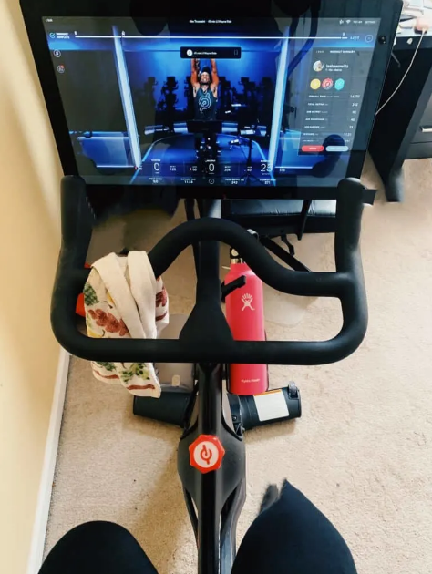 The Peloton's rotatable HD Console is very outstanding too