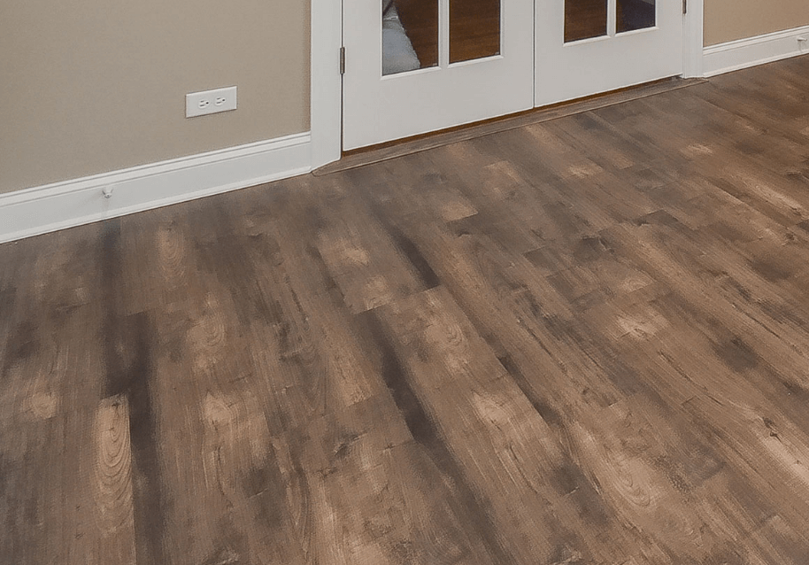 While hardwood isn't commonly used, it's great for aesthetics and durability