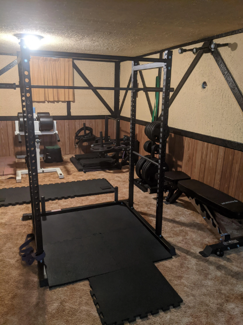 That rotting basement can be a hell of a gym, bring it to life