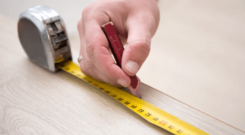 Have all the measurements you need on paper before starting