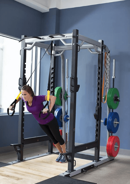 """Power rack vary in width, but most are within 46"""" to 50"""""""