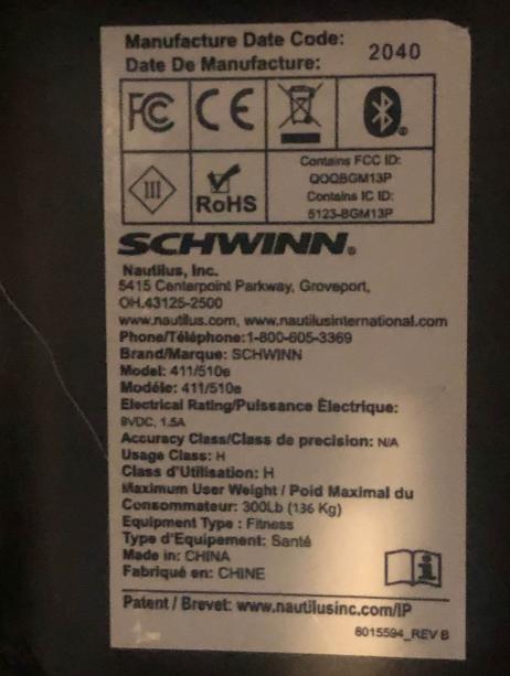 Schwinn also comes with impressive specs