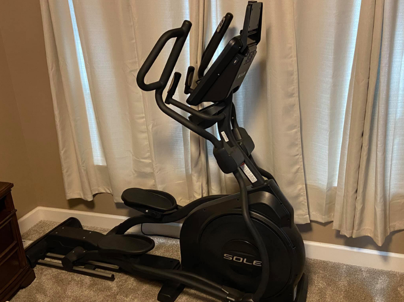 Sole Elliptical is a tank built for serious heavy lifting