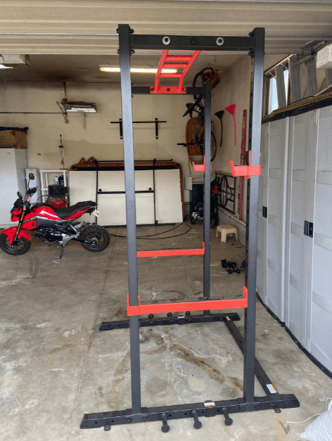 The Sunny health and fitness power rack is affordable and worth every penny