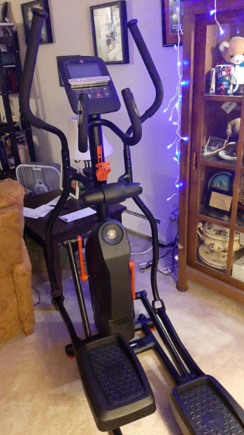 The Schwinn beats elliptical weight limits as it can take on tall and heavy users