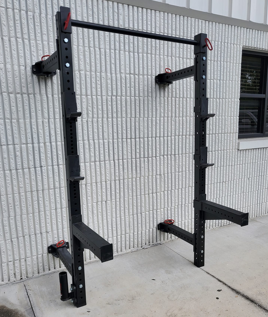 Titan X3 is a great folding option when it comes to rack for a small place