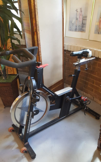 Upright bikes have their benefits