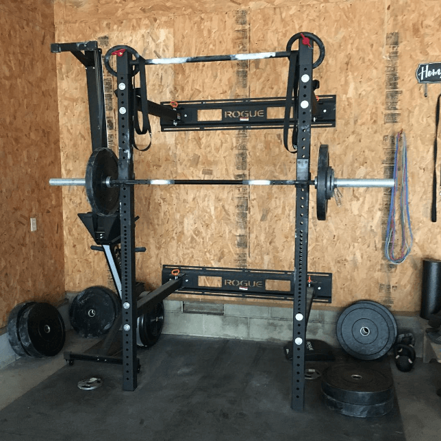 Wall mounted racks are less expensive and thus a good start