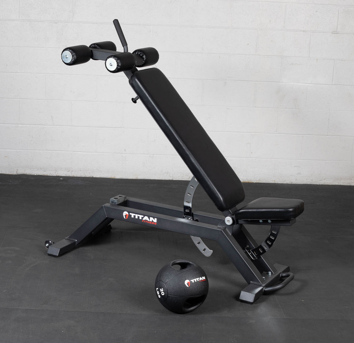 titan fitness max fid is another great option for basment gym