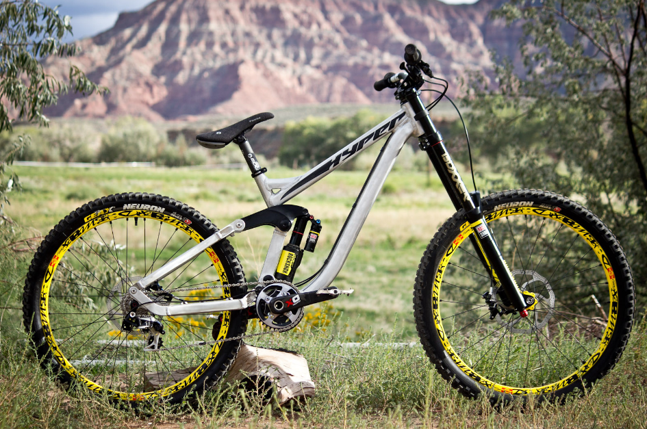 A hyper is a hybrid bike that can take on both city roads and off-road trails