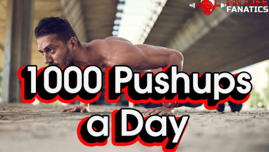 I Ended up Doing 1000 Pushups a Day