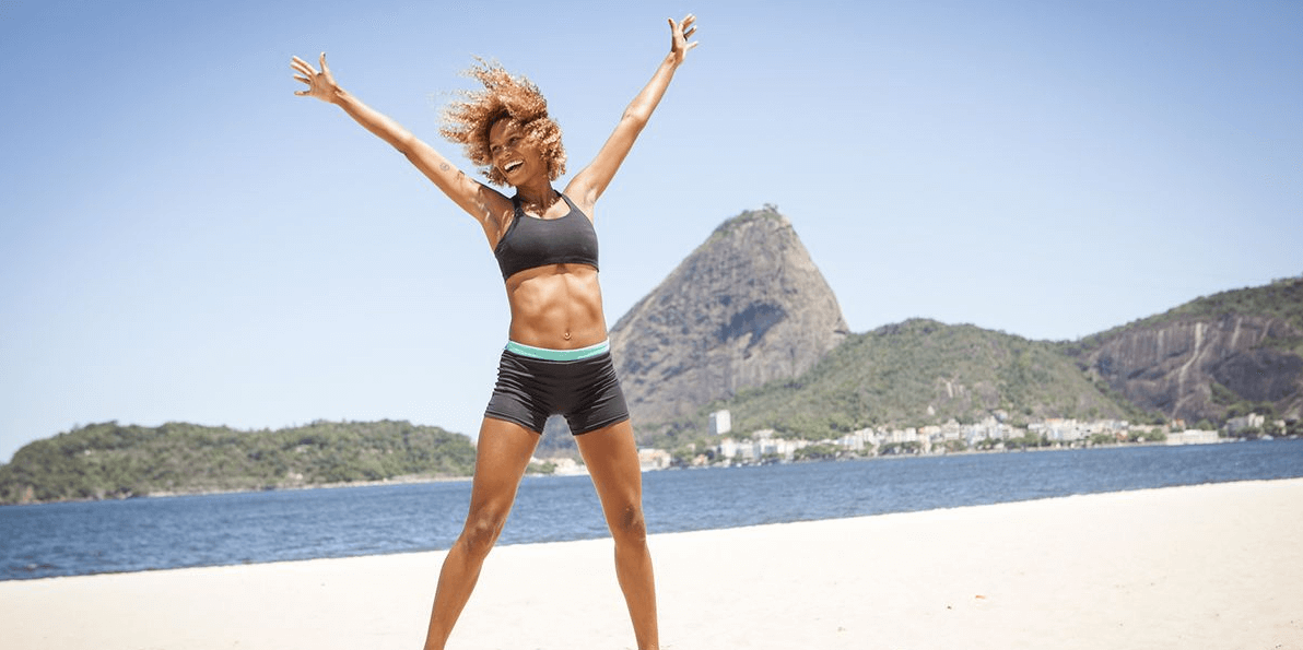 Jumping jacks are just effective as jump rope at working abs