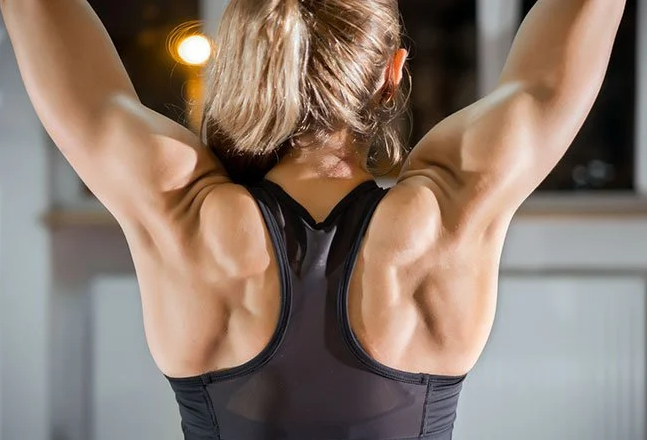 Latissimus Dorsi are some of the primary muscles worked by lat pulldowns