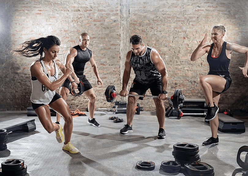 That's how you can mix different workouts through the week