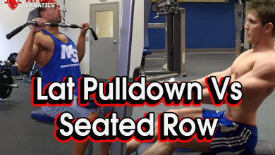 The Lat Pulldown vs Seated Row
